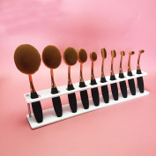 Cool7 10 Lattices Brushes Storange Place Organiser Acrylic Cosmetic Shelf