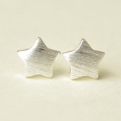 Authentic sterling silver star earring silver stud earring star vintage jewellery