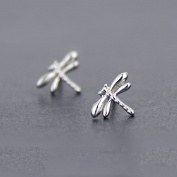 dragonfly 925 sterling silver stud earring for wedding jewellery