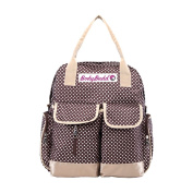 HuggyHug America's Original Mommy, Nappy Bag, Stroller Organiser Tote, Pure Coffee