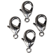 23mm Black Gold plated Lobster Clasp Set of 4