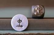 Brand New Supply Guy 6mm Yoga Symbol Metal Punch Design Stamp CH-91
