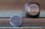 "Brand New Supply Guy 10mm ""Cowgirl"" Word Metal Punch Design Stamp CH-88"