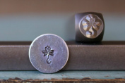 Brand New Supply Guy 6mm Lotus Flower Metal Punch Design Stamp CH-82
