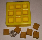 Caramels Candle & Soap Mould - 9 Cavities- NOT FOR FOOD USE