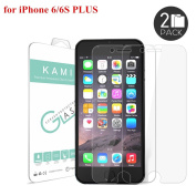 SAUS Ultra-Thin Crystal Clear Screen Protector for iPhone 6s Plus/6 Plus - 2 Pack