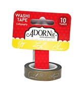 ADORNit Calligraphy Washi Tape