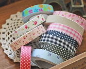 Decorative Adhesive Cloth Tape Scrapbooking Diary Scotch Mask Stickers Stationery Office School Supplies