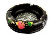 ashtray decorations, souvenirs, collectibles, is taking action. 100% authentic crafts from Thailand