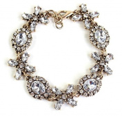 mywaxberry alloy dress accessory tiara ring diamond gemstones flowers bracelet