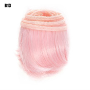5cm*100cm DIY High-temperature Wire Black Pink Purple Blue Green 43 Colours Available Hair Row For BJD / Blythe /Barbie Doll Wigs