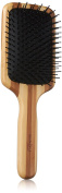 Upper Canada Soap Studio Dry Wood Paddle Brush, Bamboo Striped