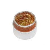 Medius Long-Lasting Glitter Powder Glue Nail Polish Soak Off Uv Lamp Gel Gold