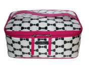 Kate Spade New York Whitehall Court Large Colin Make-Up Cosmetics Travel Bag