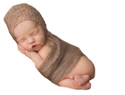 Little Kiddo Lovely Newborn Baby Mohair Crotchet Knit Photography Prop Wrap Blanket Photography Outfit