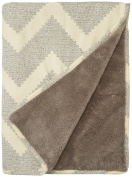 Jax and Bones Melrose Blanket - Small - Dove