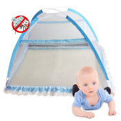 Foldable portable Baby Infant Crib Mosquito Net for Newborn bedding,Lace Soft Breathable bed nets for Kids House Gift