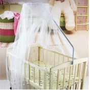 Random Colour Baby Infant Toddler Nursery Mosquito Net Bedding Crib Canopy Netting for home Outdoor