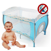 Baby Kids Nursery Crib Tent canopy for Prevention Mosquitos Bites, Toddler Infant Bed Mosquito Net for Newborn Gift