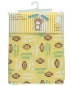 Honey Baby Fitted Crib Sheet - yellow, one size
