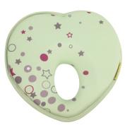 Dianoo Heart Shape Baby Infant Pillow, Prevent Flat Head Support Cushion, 1PCS