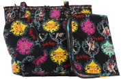 BETTY BOOP 3pc nappy BAG SET in BLACK