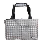 Damero Insert Organiser (Sewn to the Bottom) for Women's Handbag / Purse / Nappy Bag / Backpack with Handles