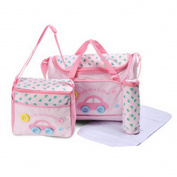 Multi Function Baby Nappy Nappy Changing Mat Bag Mummy Tote Handbag