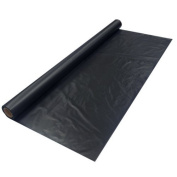 BLACK Plastic Table Cover Roll 100cm X 100 Party Banquet by ES