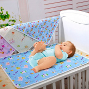2 Pack- Baby & Toddler Waterproof Washable Nappy Changing Mat Pad Colour Random