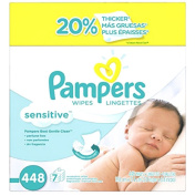 Pampers Sensitive Wipes New Care Clean Hypoallergenic Mild 7x Box 448 Count By Watchy Shop