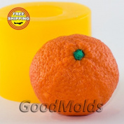 Soap Mould Tangerine 2 3D Food-grade Silicone Moulds animal Mould Mould for Soap.
