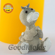 Soap Mould Knitted duckling Food-grade Silicone Moulds animal Mould Mould for Soap.