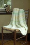 """""""My First Baby Blanket"""" Knit Kit with Encore Worsted COLORSPUN Yarn - LULLABYE"""