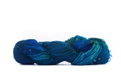 Hand Beaded Silk Yarn - Enchanted Forest