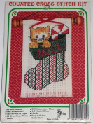 Kitten in Stocking Counted Cross Stitch Kit