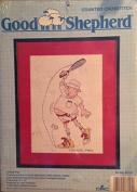 "Good Shepherd ""Tennis Pro"" Cross Stitch - Kit No. 83716 - 1989"