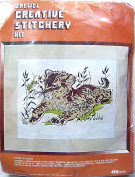 Vogart Creative Stitchery Crewel Picture Kit ~ Lion Cub