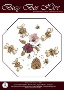 Busy Bee Hive - Rajmahal Sadi Metal Thread and Art Silk Kit