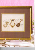Musical Instruments - Rajmahal Sadi Metal Thread and Art Silk Kit