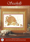 Seashells - Rajmahal Sadi Metal Thread and Art Silk Kit