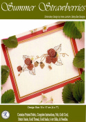 Summer Strawberries - Rajmahal Sadi Metal Thread and Art Silk Kit