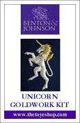 Unicorn - Goldwork Kit by Benton & Johnson
