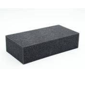 Shanghaipop Needle Pin Dense Foam Pad Cushion Mat Holder Craft Felt Felting 18X12X6cm Black