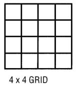 Alvin CP10104151 Grid Vellum 36 X 20 Yds 4x4