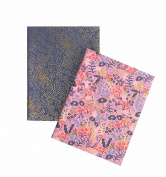Tapestry Pocket Notebooks by Rifle Paper Co. -- Set of 2