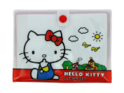 Official Hello Kitty Letter Postcard Writing Set in PVC Wallet with Stickers