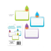 Official Good Luck Trolls Sticky Notes School Officestationery