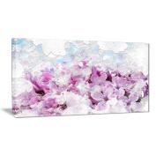 Digital Art PT3426-40-20 Flower Garden Floral Canvas Art