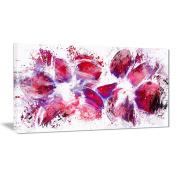 Digital Art PT3404-40-20 Abstract Tulips Floral Canvas Art